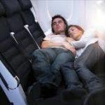 sleeping on planes