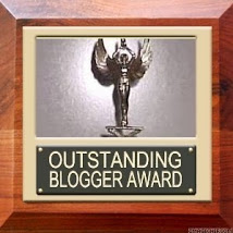 Outstanding blogger award nominee